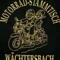 Stickerei Stickpunkt Motorrad-Stammtisch Wächtersbach