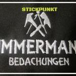 Stickpunkt Stickerei Daniel Zimmermann Dachdeckermeister Glauburg